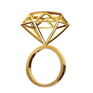 Melody Ehsani Cage Diamond Ring 💍